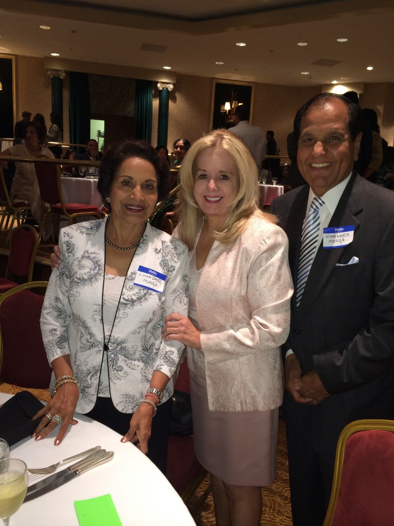 Dr. Narinder and Chander Monga and Brenda Grogan
