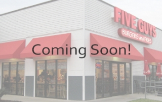 Five Guys Burgers and Fries Coming Soon Panel | Clovis, CA