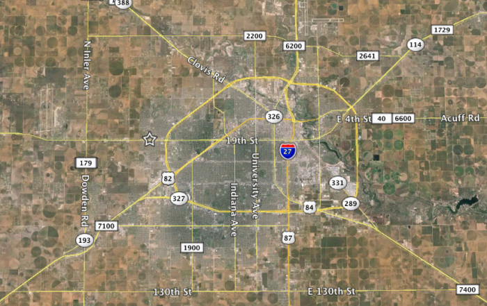 lubbock project site