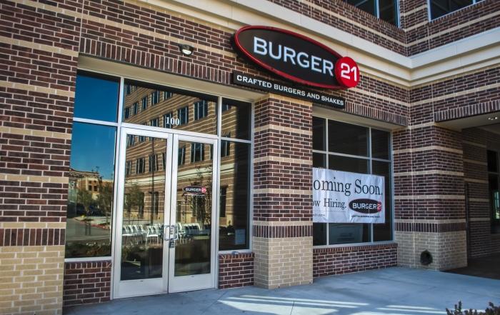 Burger 21 Exterior HDR