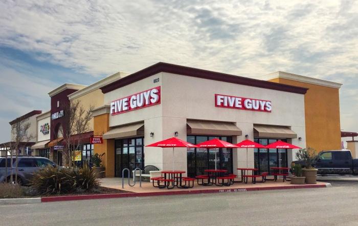 five guys fresno