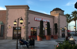 Five Guys Burgers and Fries, Manteca