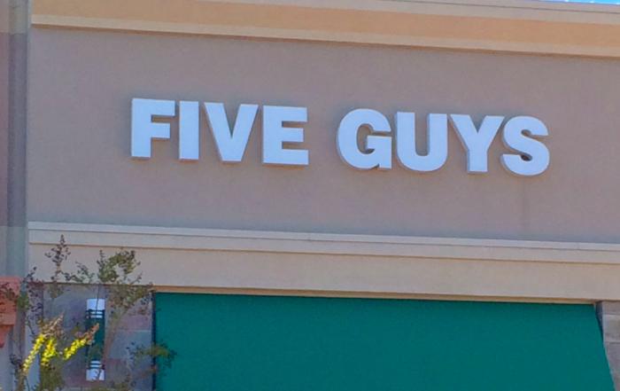 five guys manteca