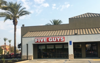 Investing in Restaurants California Commercial Options | Five Guys Burgers and Fries Hanford, CA