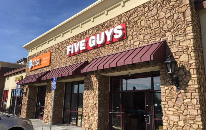 Five Guys Exterior
