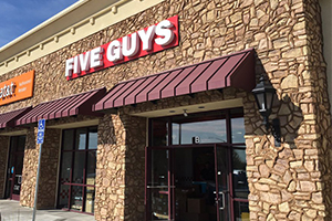 Five Guys Riverbank Featured