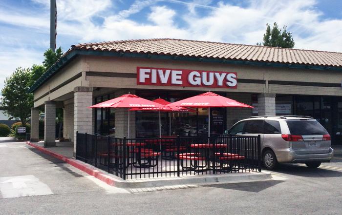 merced five guys