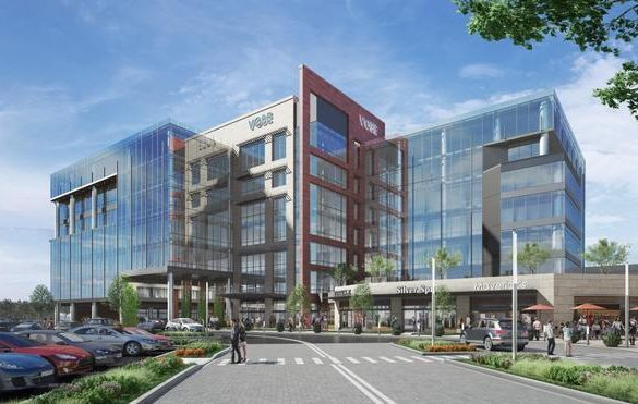 The Shops at Willow Bend Office Building Render