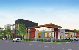 Encore Evans Station in Denver, Colorado Rendering