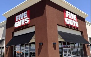 Five Guys Burgers and Fries Land Run in Enid, Oklahoma