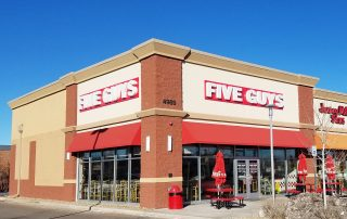 Five Guys Burgers and Fries Broadway in Englewood, Colorado