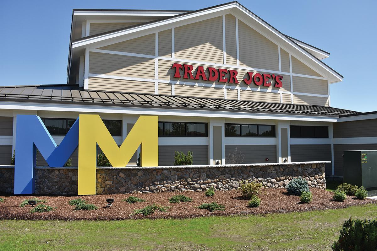 Trader Joe's at Market and Main in Bedford, New Hampshire